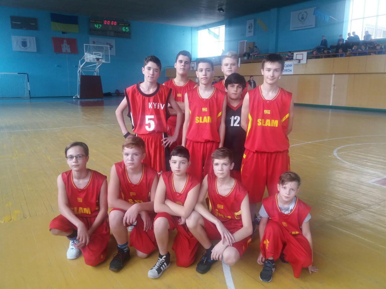 Баскетбольная школа на выезде