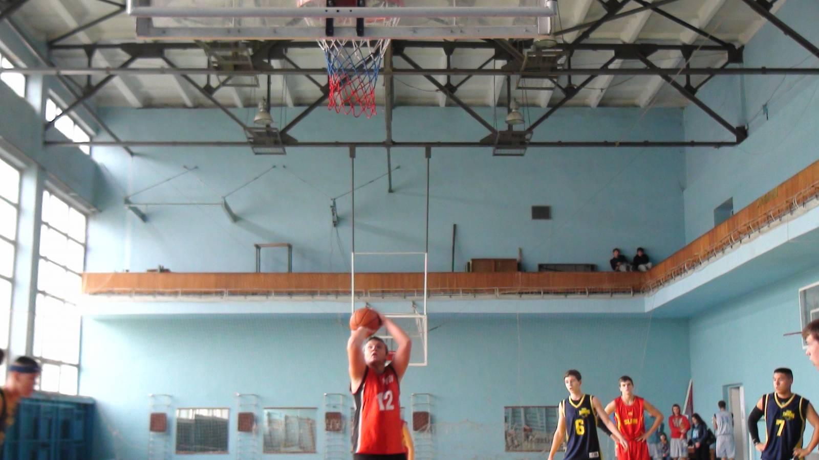 матч с христианской баскетбольной лиги