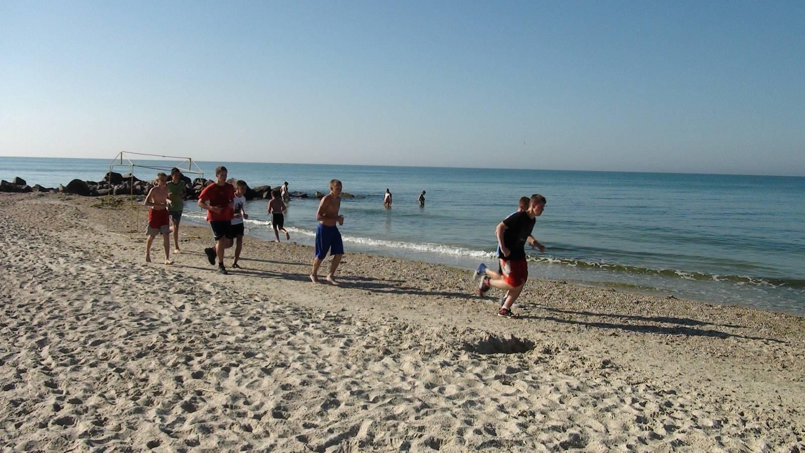 спортивный детский лагерь море