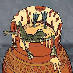 притча о двух лягушках